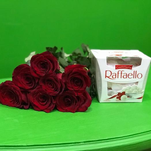 7 Роз и раффаэлло