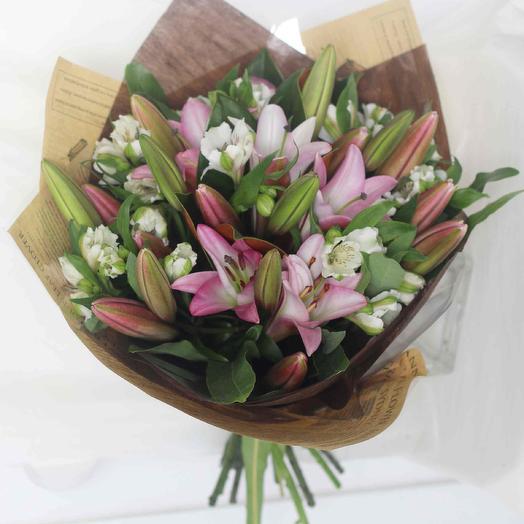 Букет цветов Принцесса