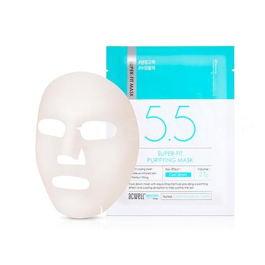 Маска с охлаждающим эффектом Acwell Super Fit Purifying Mask