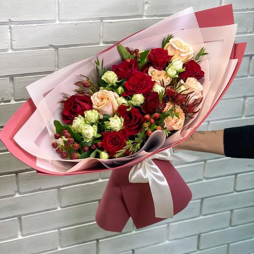 Luxury of roses