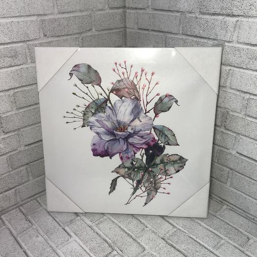 Картина цветок