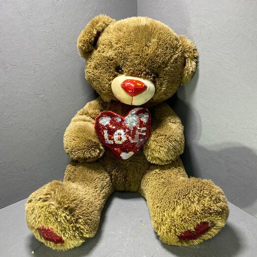 Медведь Love
