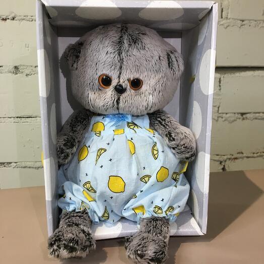 Кот Басик Беби в пижамке