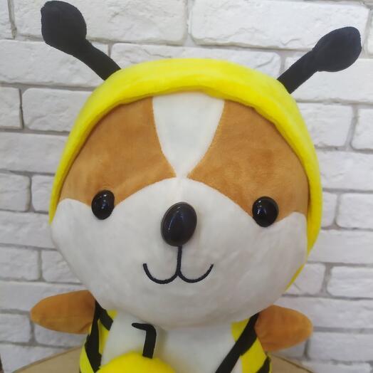 Мягкая игрушка в костюме пчелы 🐝