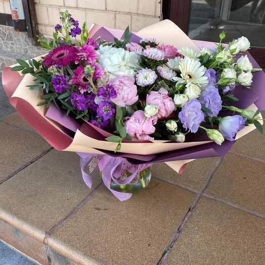 Букет цветов « Чарующая незнакомка»
