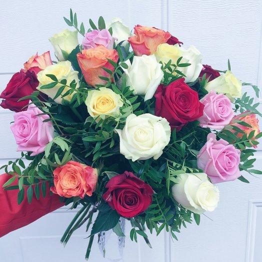 Яркая встреча: букеты цветов на заказ Flowwow