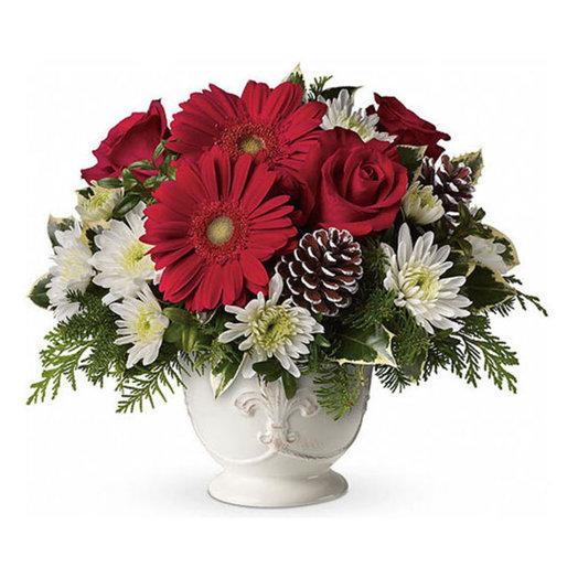 Новогодняя композиция «Праздничный банкет»: букеты цветов на заказ Flowwow