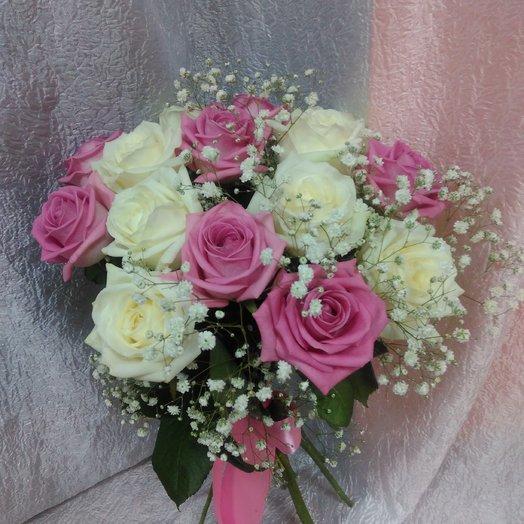 Розовый кремовый: букеты цветов на заказ Flowwow