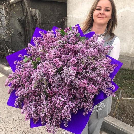 101 веточка сирени: букеты цветов на заказ Flowwow