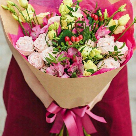 Воздушная акварель: букеты цветов на заказ Flowwow