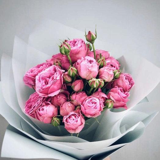 9 роз Леди Бомбастик: букеты цветов на заказ Flowwow