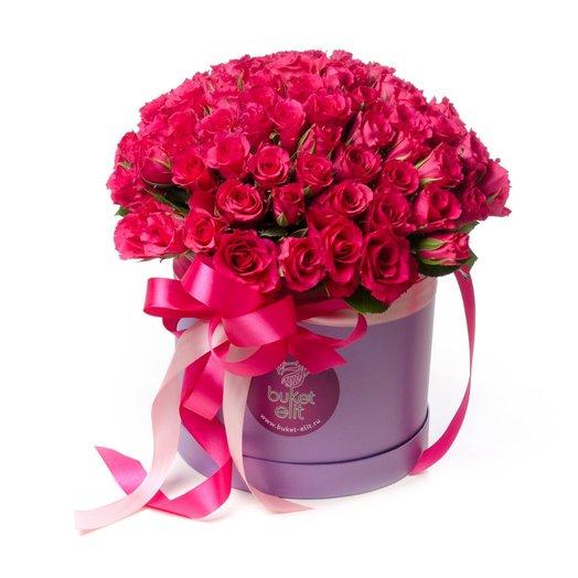 Краски фуксии: букеты цветов на заказ Flowwow