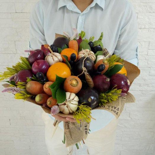 Овощной букет Дары лета