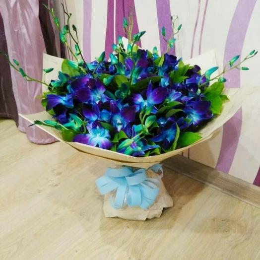 Синий туман: букеты цветов на заказ Flowwow