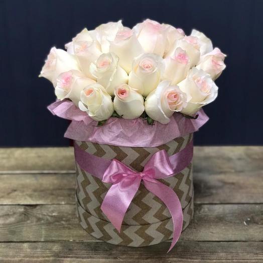 Нежный пломбир: букеты цветов на заказ Flowwow