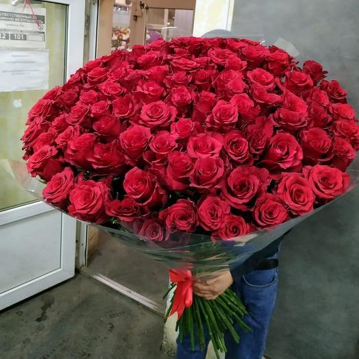 101 эквадор: букеты цветов на заказ Flowwow