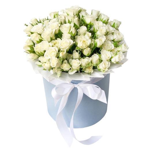 Коробочка неги: букеты цветов на заказ Flowwow