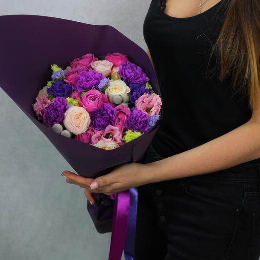 Романтичная ночь: букеты цветов на заказ Flowwow