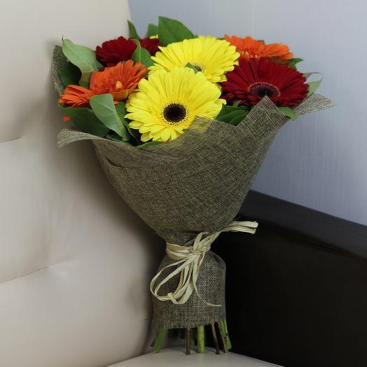 7 Гербер микс: букеты цветов на заказ Flowwow