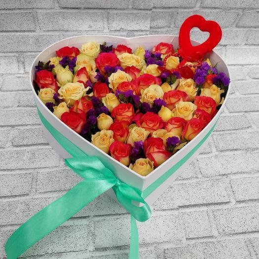 На ден святого Валентина: букеты цветов на заказ Flowwow