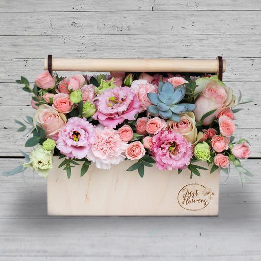 Бокс 27: букеты цветов на заказ Flowwow