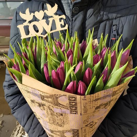 Привет, родная: букеты цветов на заказ Flowwow
