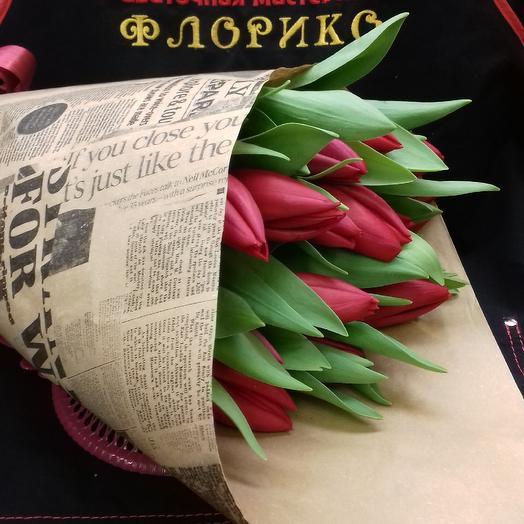Тюльпан17: букеты цветов на заказ Flowwow