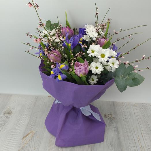 Букет 07: букеты цветов на заказ Flowwow