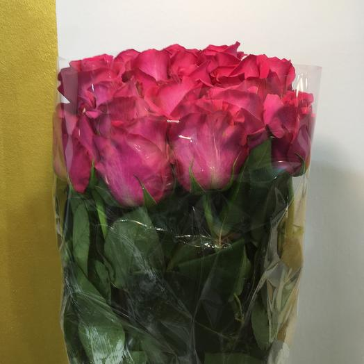 Розовая магия: букеты цветов на заказ Flowwow