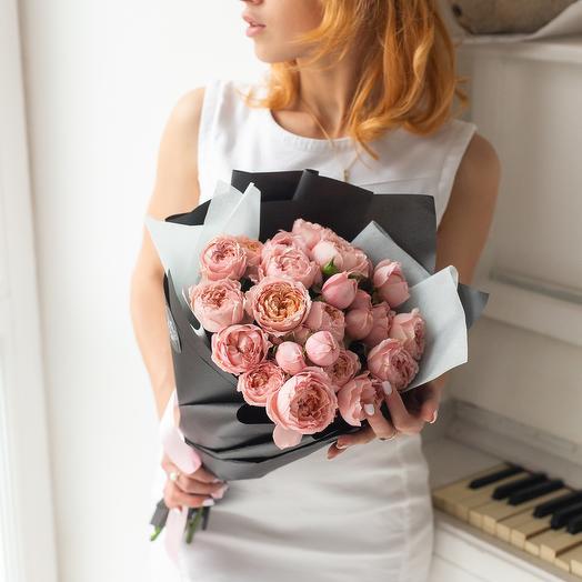 МОНО 3: букеты цветов на заказ Flowwow
