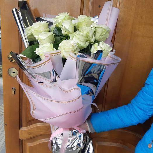 Букет из эквадорской розы: букеты цветов на заказ Flowwow