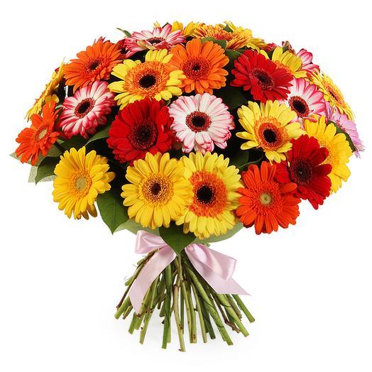 Букет с герберами Экспромт: букеты цветов на заказ Flowwow