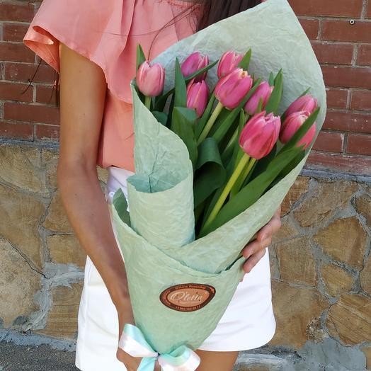 Очаровательные пионовидные тюльпаны: букеты цветов на заказ Flowwow