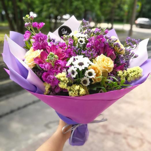 Летний каприз: букеты цветов на заказ Flowwow