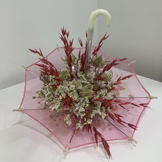 Композиция на зло дождям: букеты цветов на заказ Flowwow