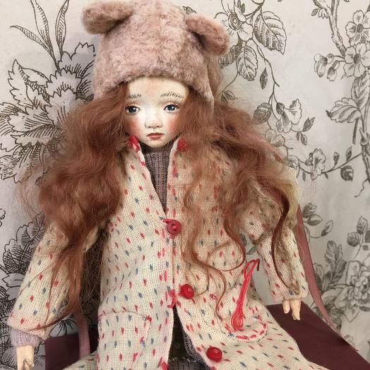 Кукла Женька: букеты цветов на заказ Flowwow