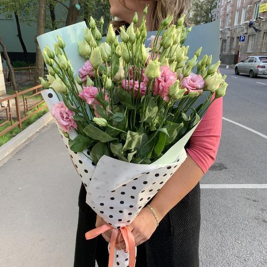 Букет лизиантусов 15 шт: букеты цветов на заказ Flowwow