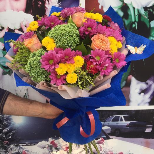 Букет «Твоя Улыбка»: букеты цветов на заказ Flowwow