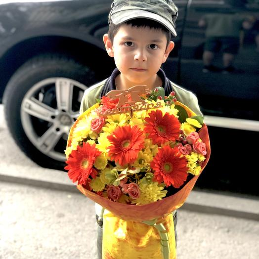 Букет рыжик: букеты цветов на заказ Flowwow