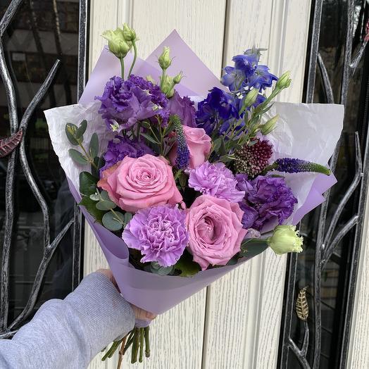 Фиолетовые мечты: букеты цветов на заказ Flowwow
