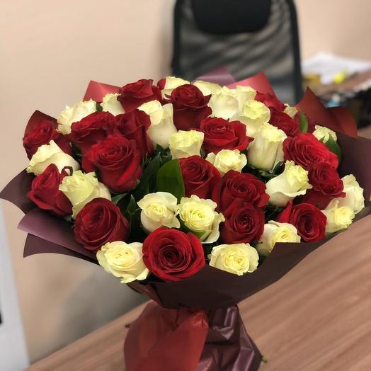 Дуэт роз