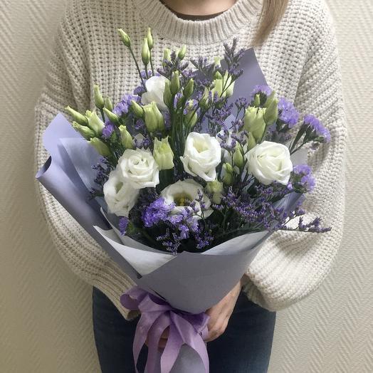 Сиреневая фантазия: букеты цветов на заказ Flowwow