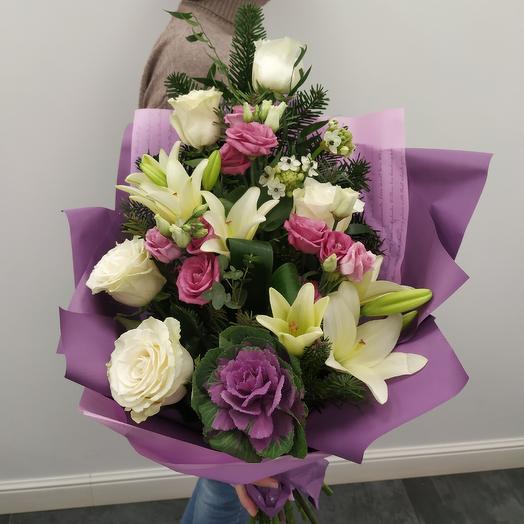 """Букет """"Пленительная нежность"""": букеты цветов на заказ Flowwow"""