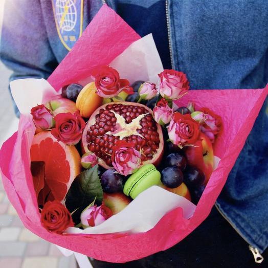 Фруктовый букет «тиндер»: букеты цветов на заказ Flowwow