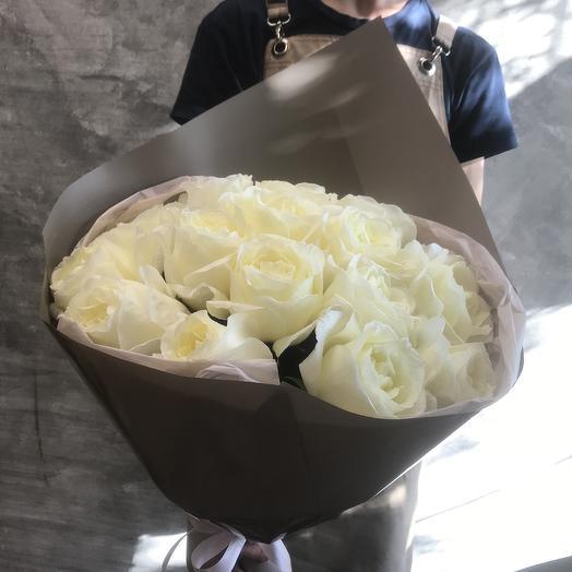 Ароматная Французская  садовая Роза Норма джин: букеты цветов на заказ Flowwow
