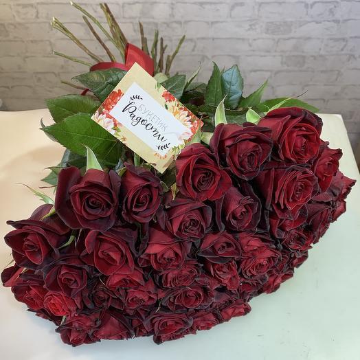 51 красная роза (чёрная магия)