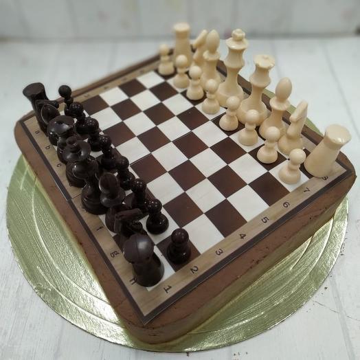 """Торт """"Шахматная доска"""": букеты цветов на заказ Flowwow"""