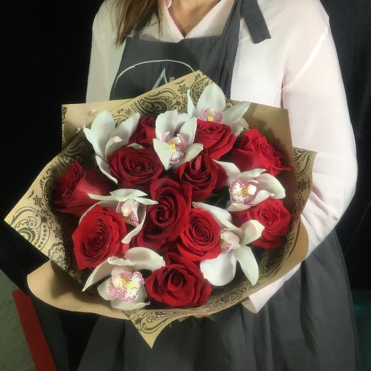 Букет цветов «Пархающие бабочки🦋»