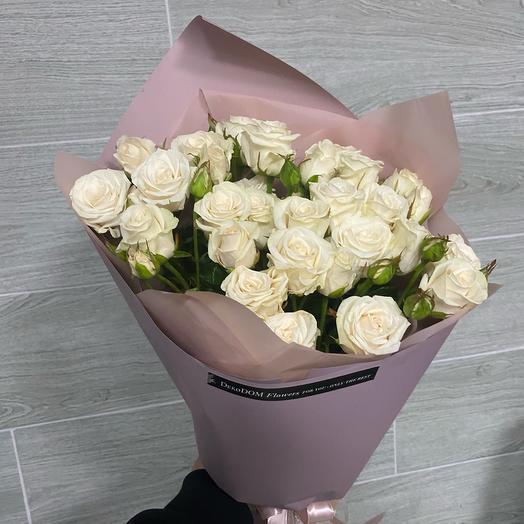 Моно из кустовой розы