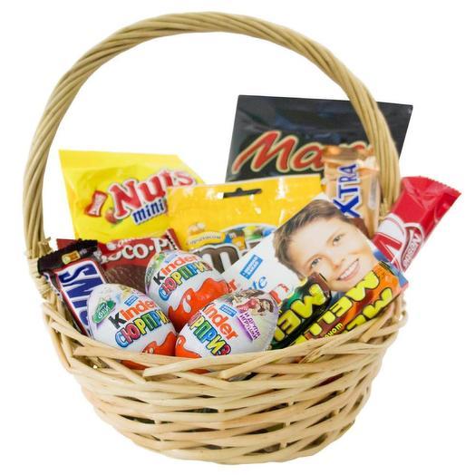 Подарочная корзина «Шоколадное наслаждение»